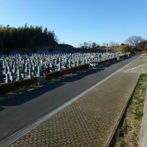 岸和田市墓苑(流木墓苑)の使用者募集が始まりました。
