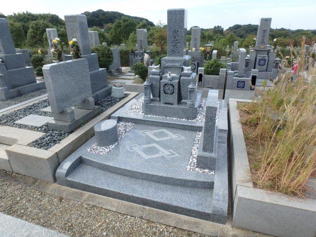 施工例3㎡以上2-41 堺市霊園(鉢ヶ峰霊園)