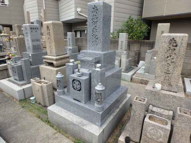 最高級品4-16 大阪市旭区 森小路霊園