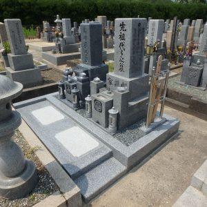 泉大津市・堺市西区・河内長野中央霊園で石碑完成工事。