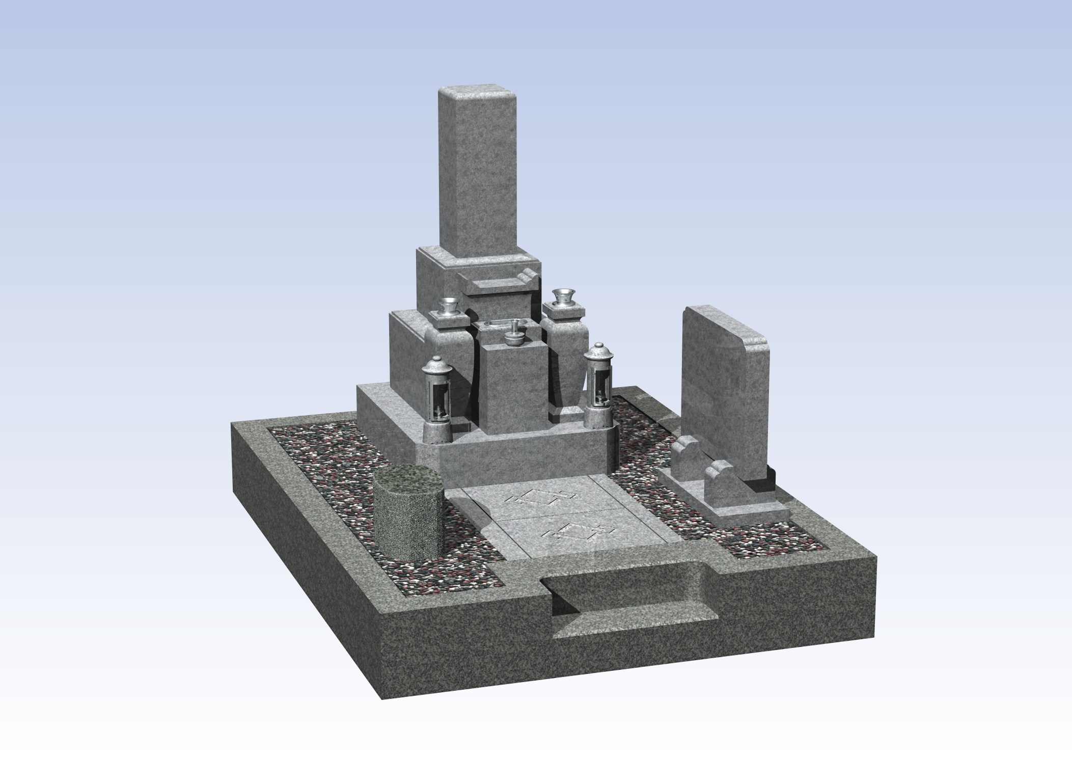 最高級品4-11  和泉市町営墓地のBefore画像