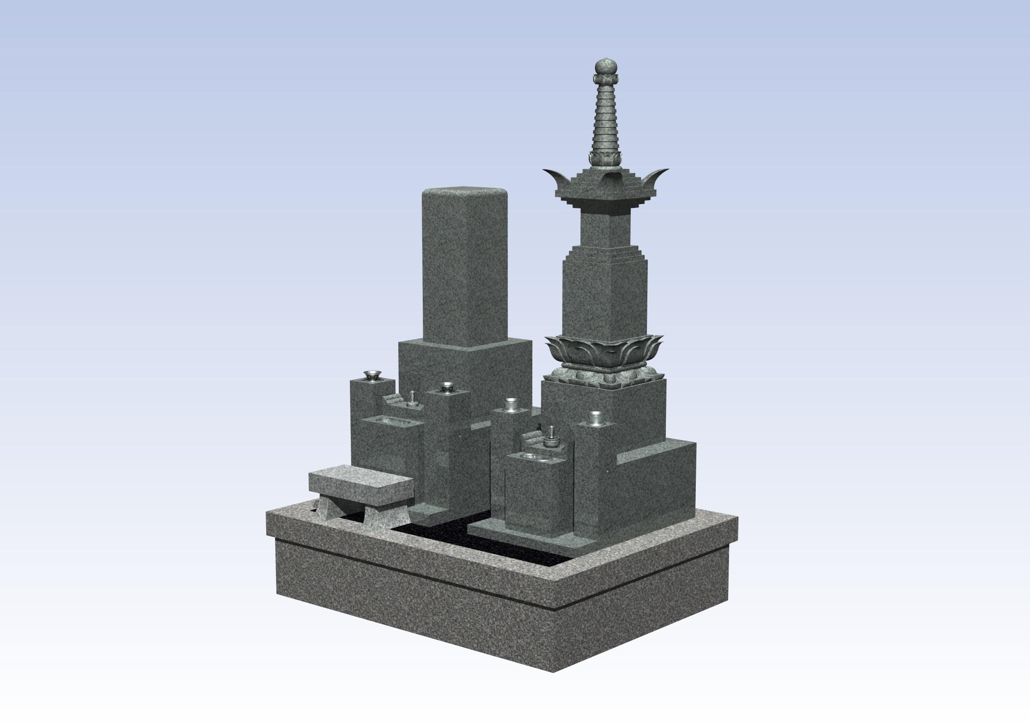 最高級品4-3 奈良県 田原本町墓地のAfter画像