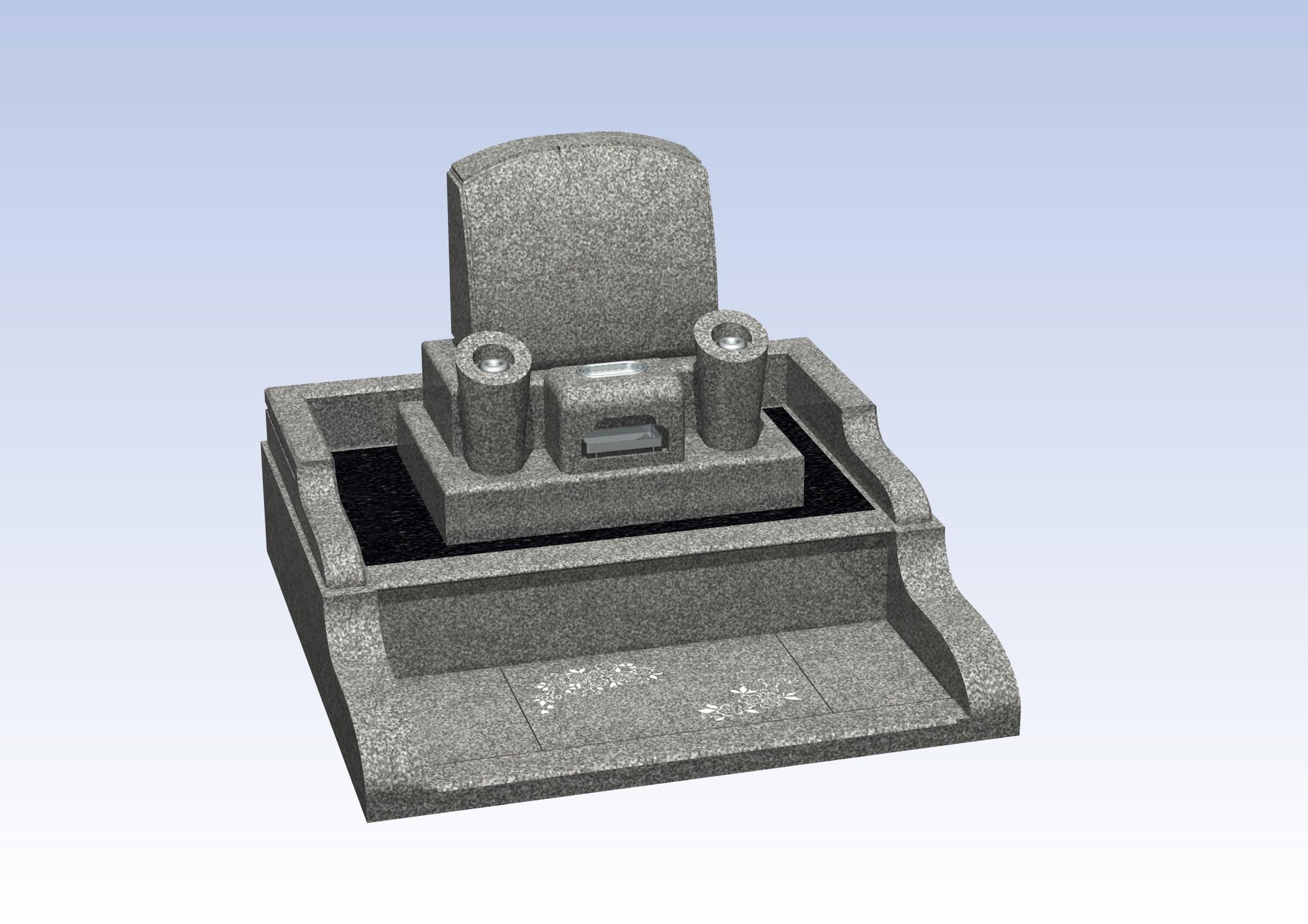 施工例洋型デザイン3-6 泉佐野市 公園墓地のBefore画像
