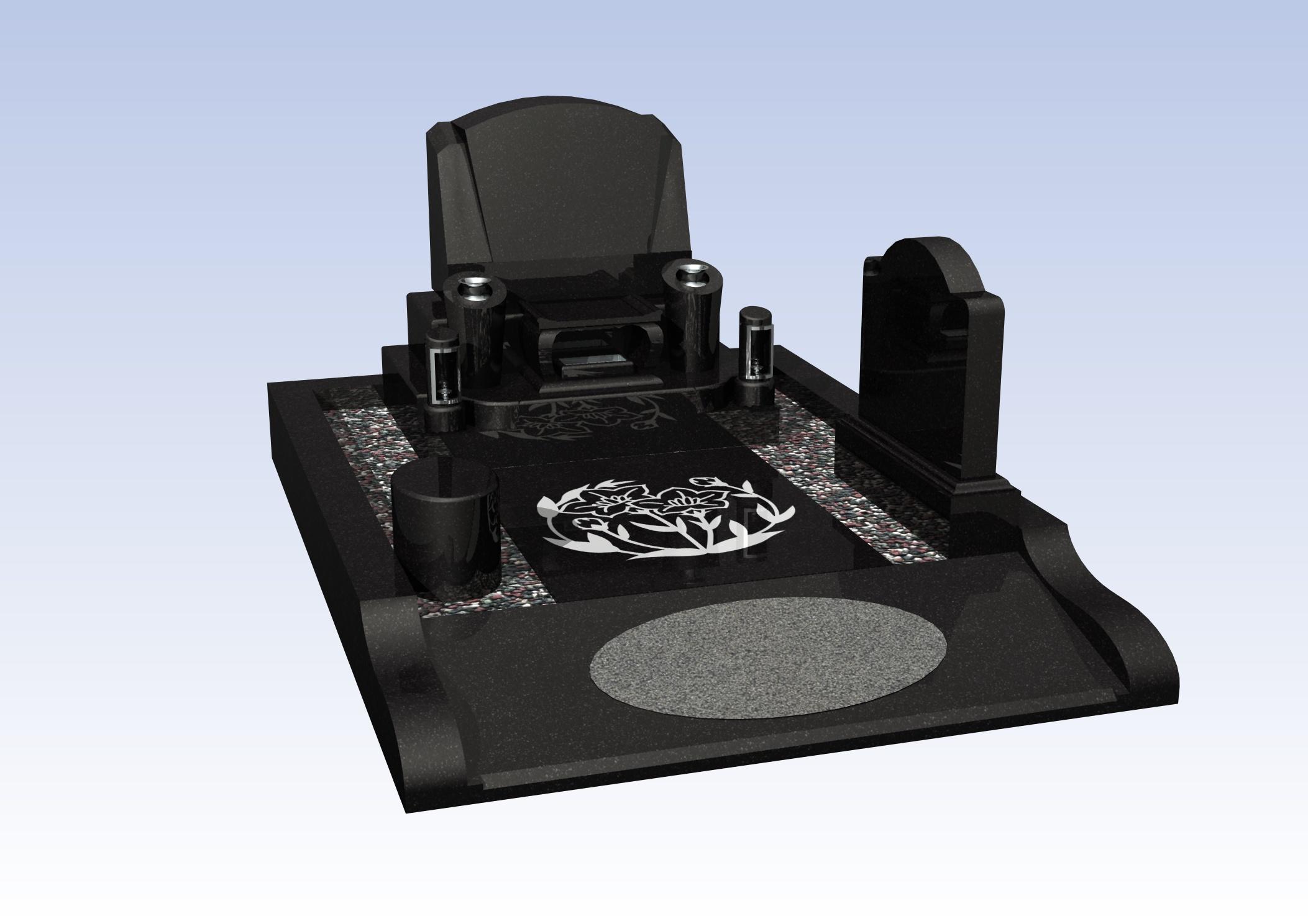 施工例洋型デザイン3-20 堺市霊園(鉢ヶ峰公園墓地)のBefore画像