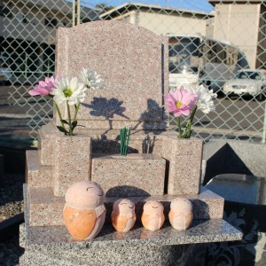 来年のお彼岸までの建墓について。