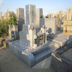 堺市中区 陶器墓地での移設工事完成。