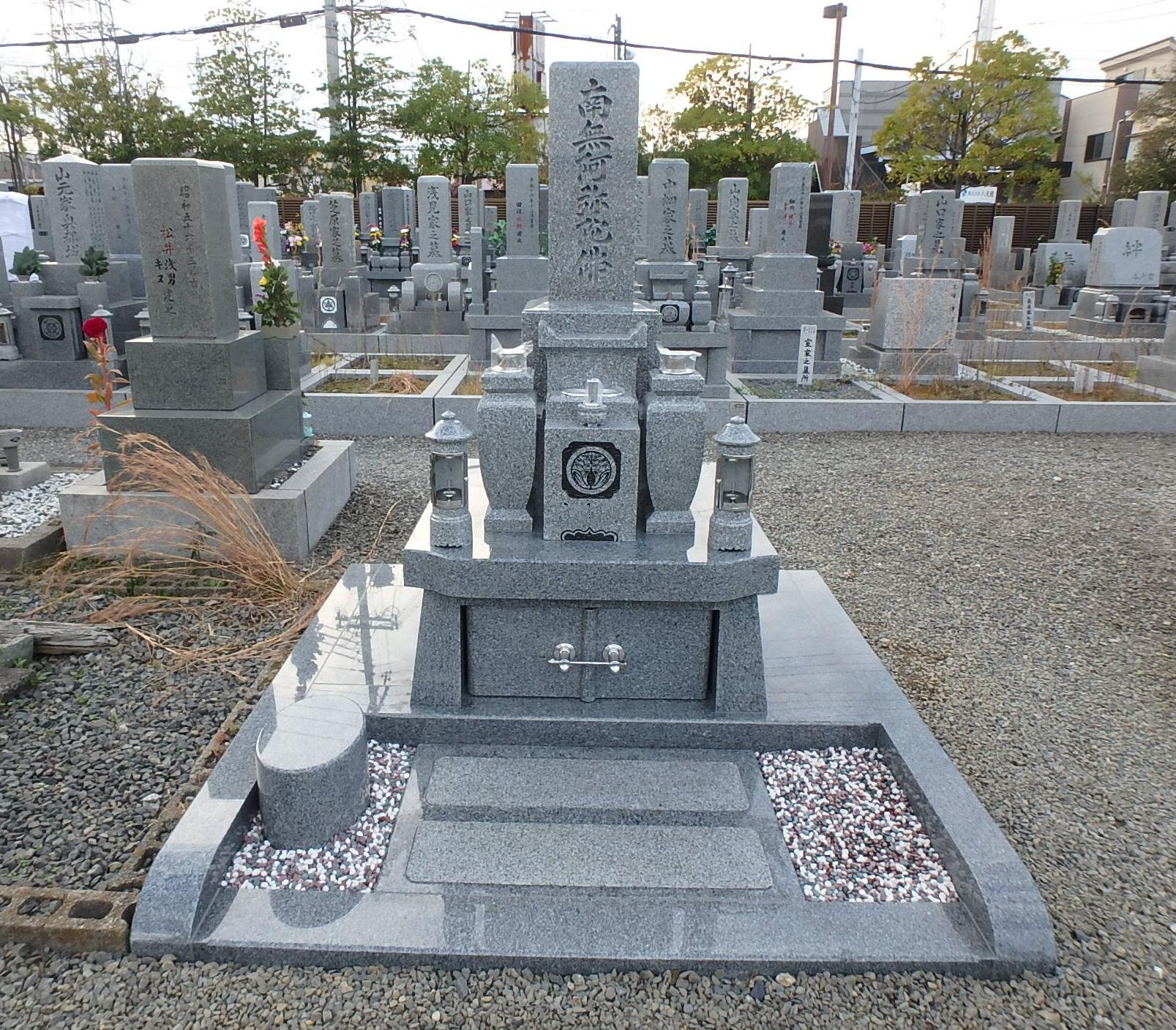 施工例3㎡以上2-36 八尾市 龍華墓地