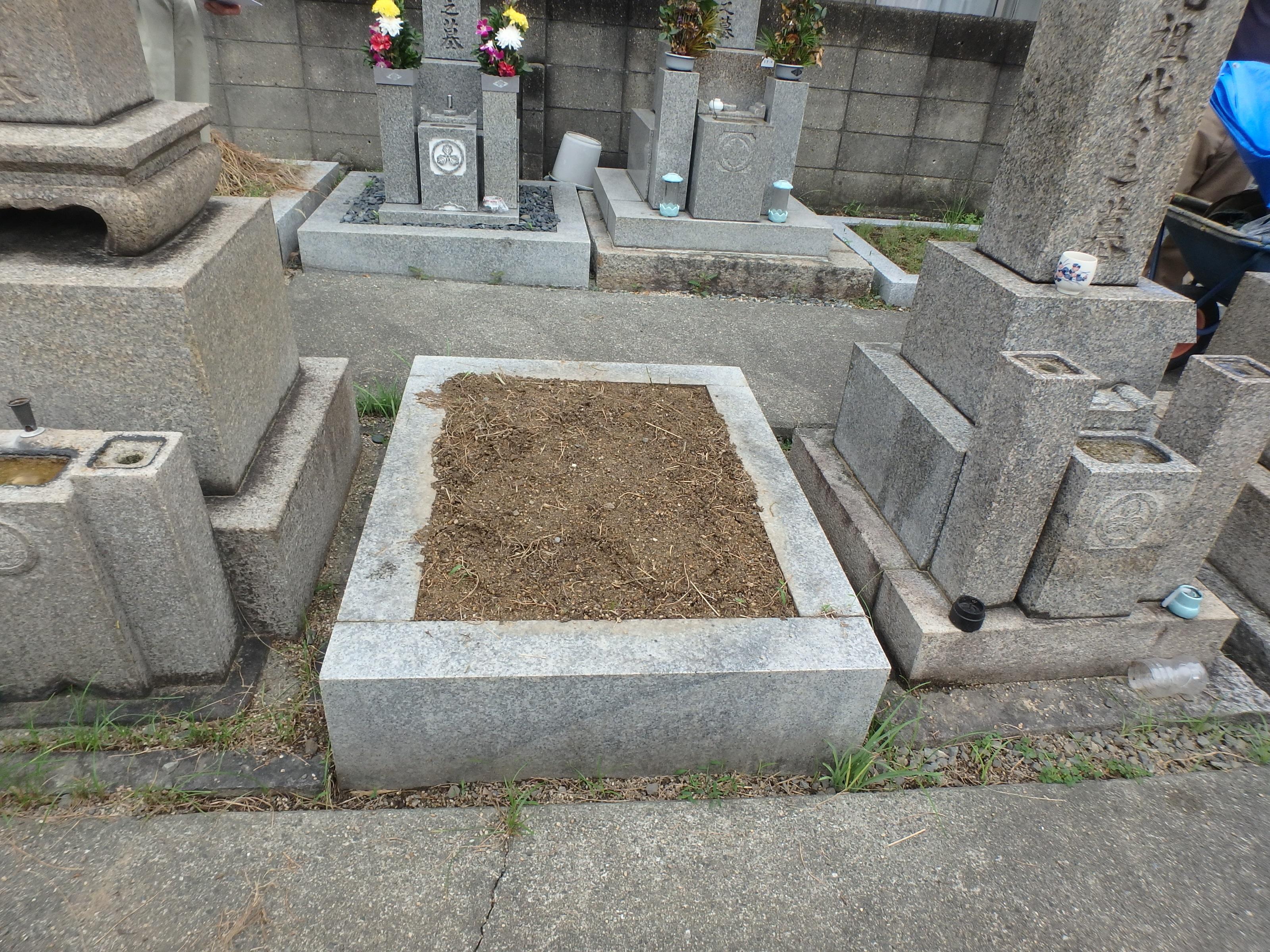 最高級品4-16 大阪市旭区 森小路霊園のBefore画像