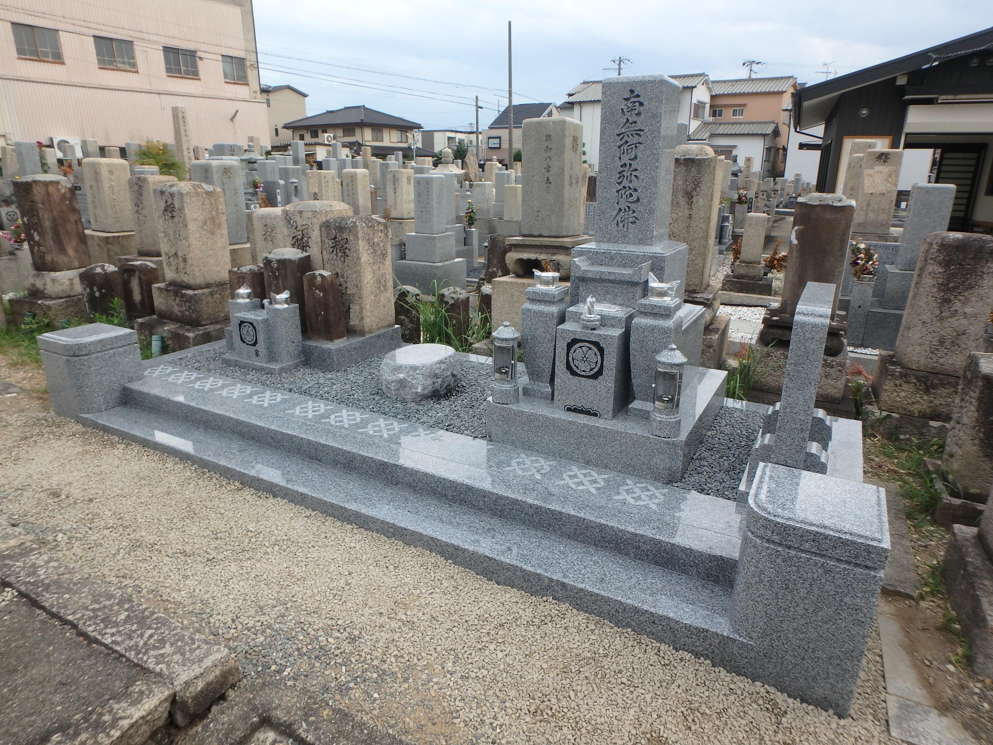 堺市西区 大鳥共同墓地のAfter画像