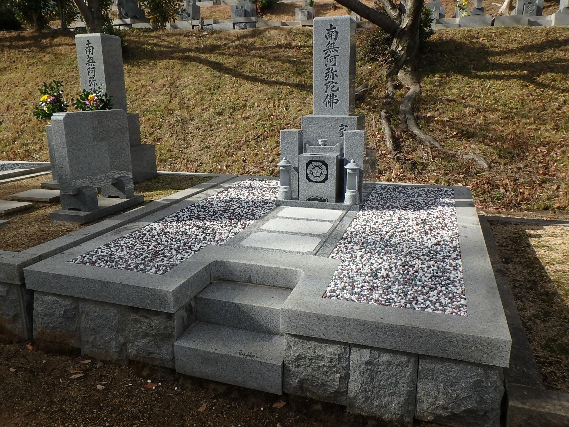 施工例2-40 岸和田市営流木墓苑