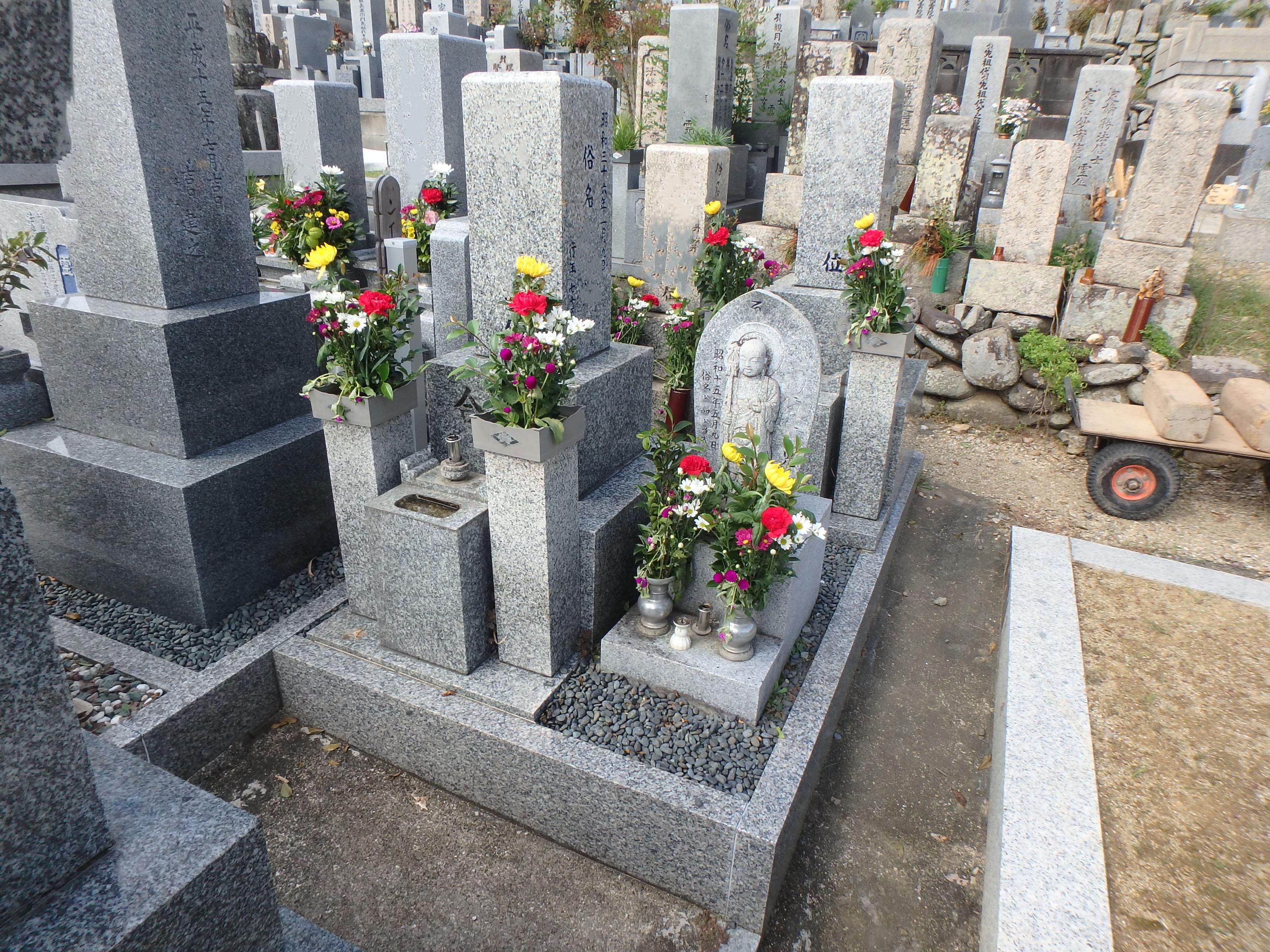 施工例3㎡未満1-31 和泉市 横山下宮墓地のBefore画像