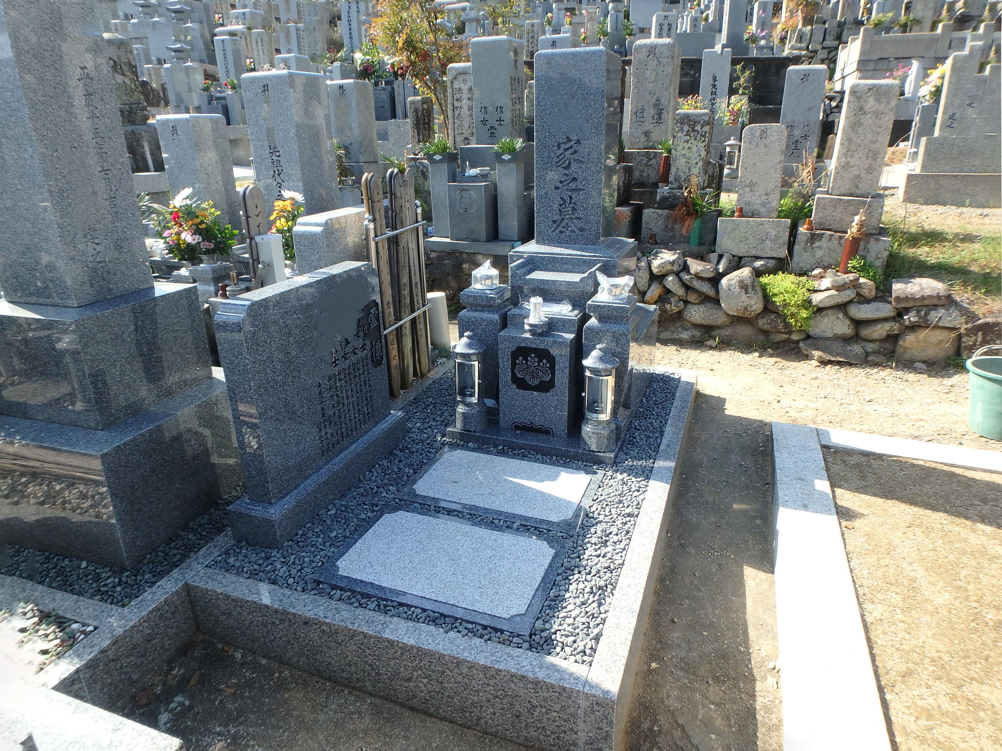 施工例3㎡未満1-31 和泉市 横山下宮墓地のAfter画像