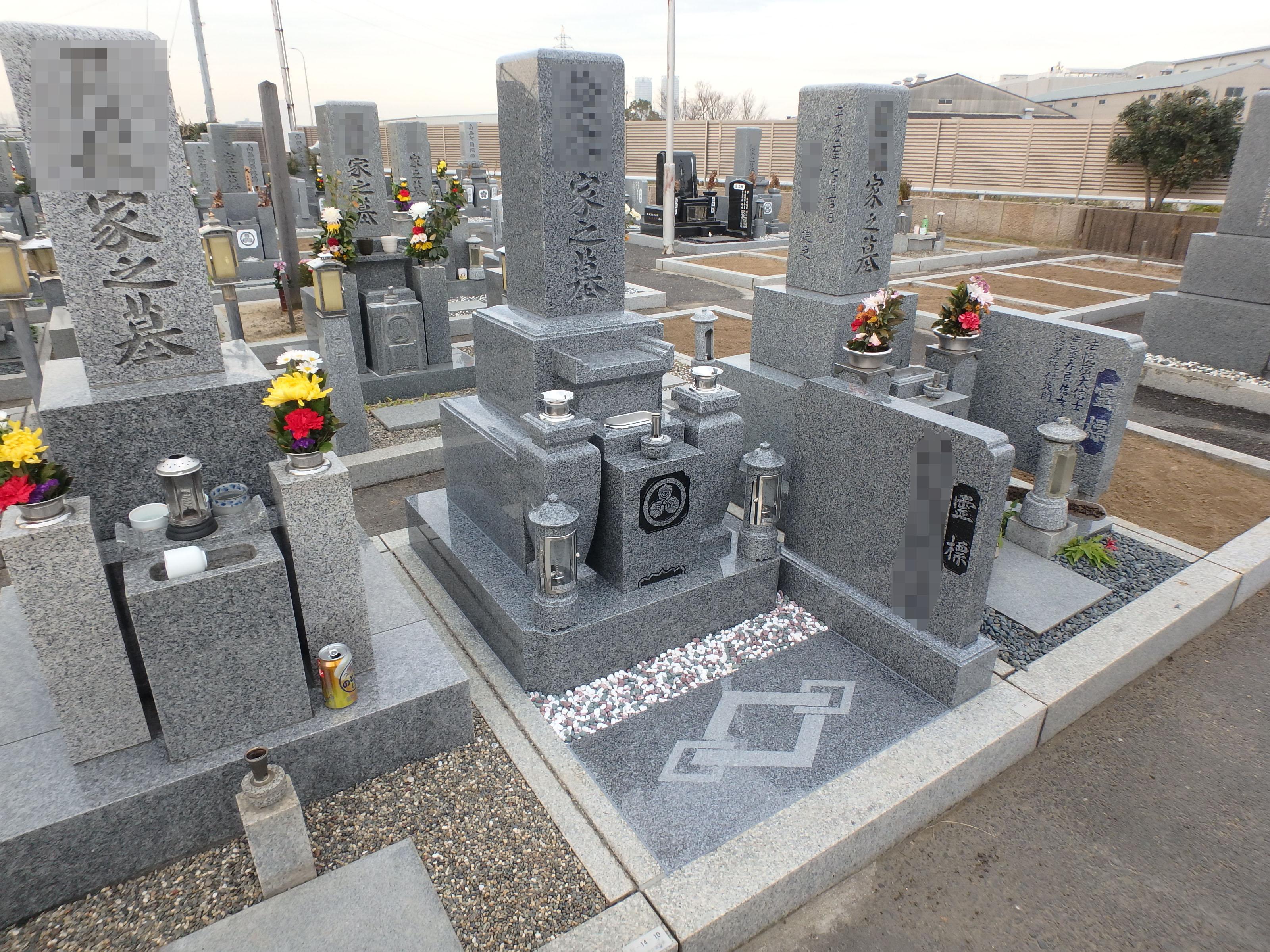 施工例3㎡未満1-33 泉大津市 板原墓地