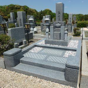 お墓のお引っ越しが完了しました。