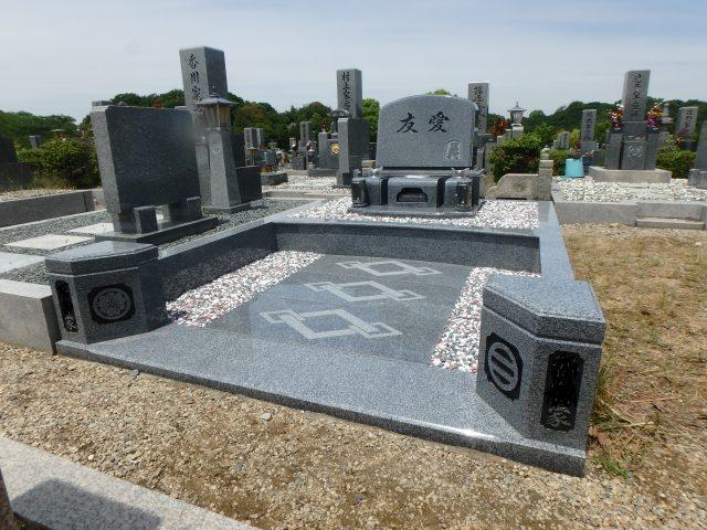 施工例 洋型墓石3-30 堺市営霊園