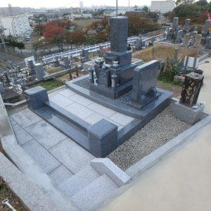 和泉市、堺市の村墓地でお墓完成