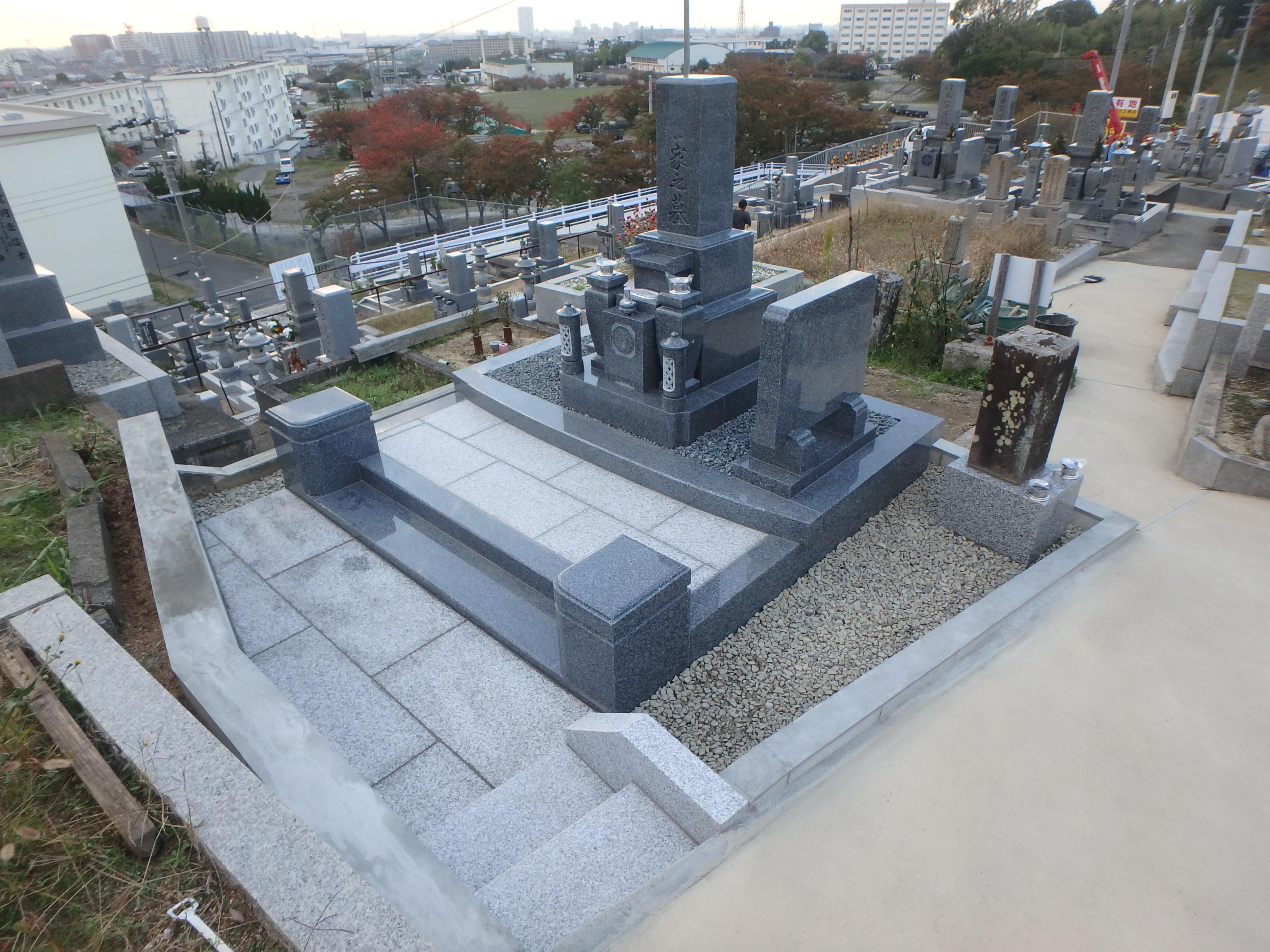 施工例2-49 和泉市黒鳥墓地の詳細画像1