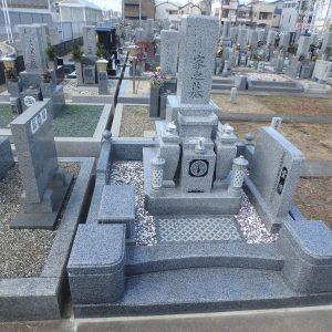 大阪府堺市でのお墓工事