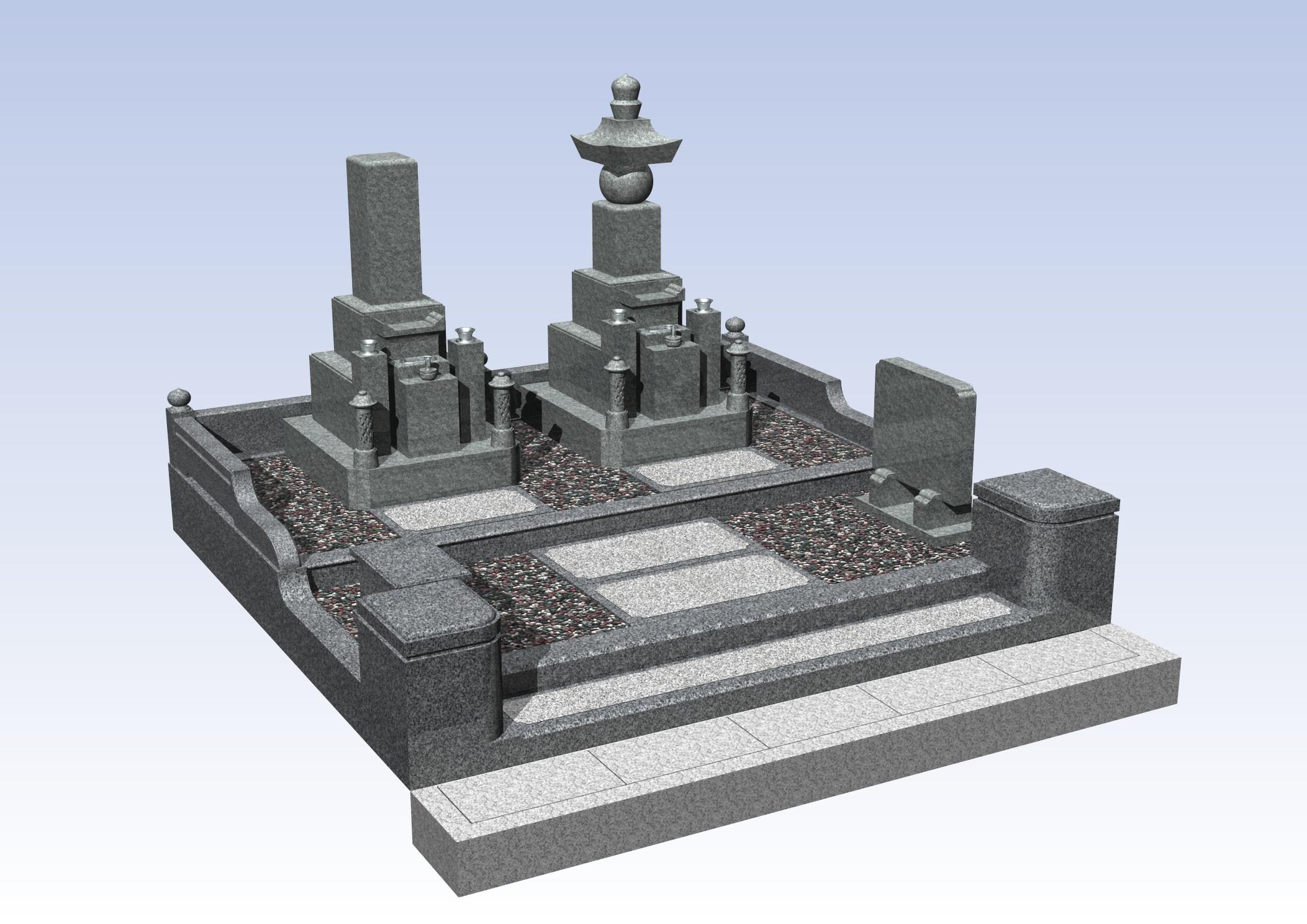 最高級品 4-18 堺市南区 地域墓地の詳細画像1