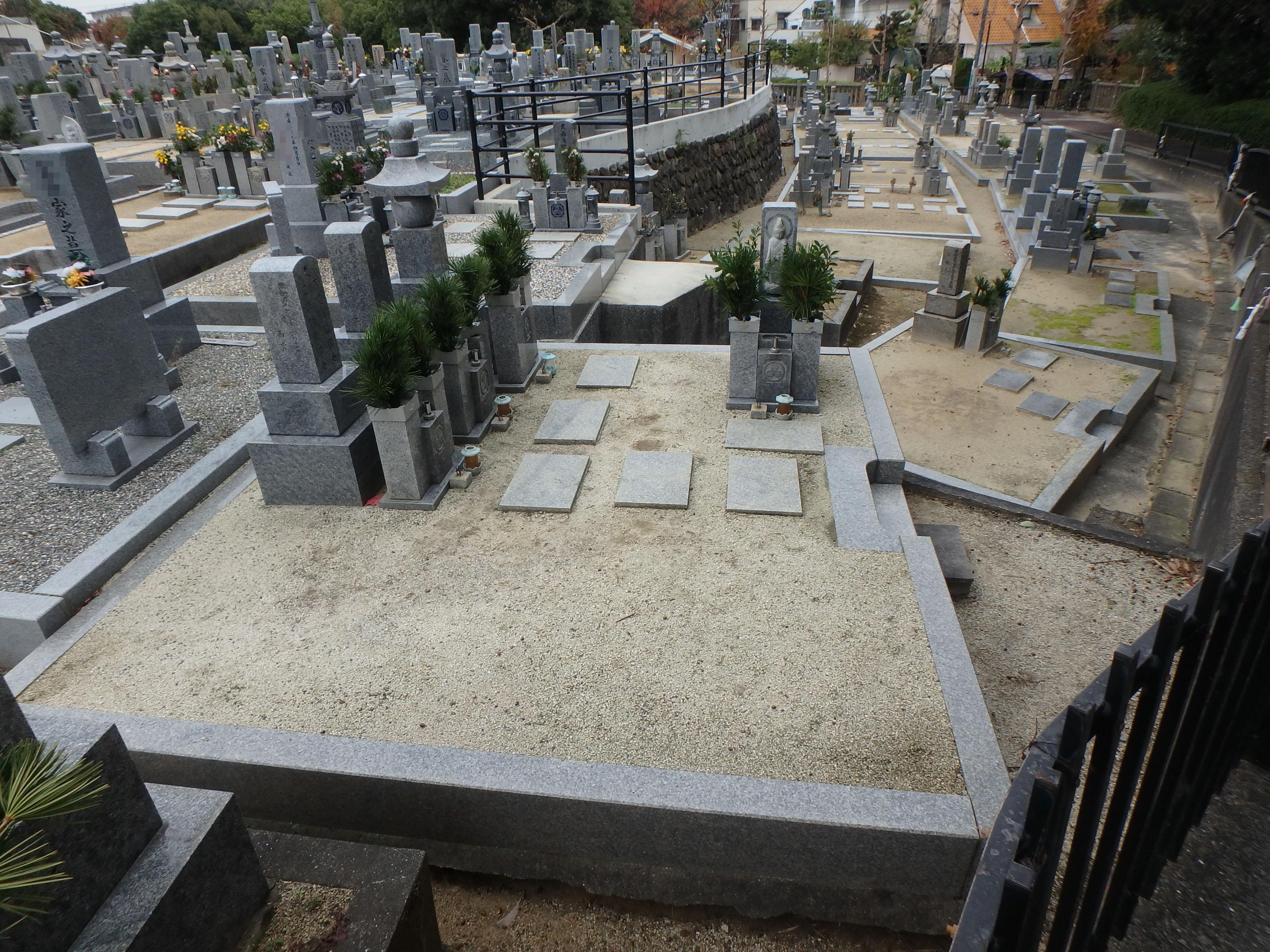 最高級品 4-18 堺市南区 地域墓地のBefore画像