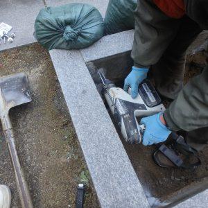 堺市南区・大阪市北区でお墓工事