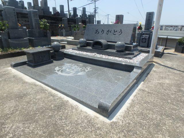 施工例洋型デザイン墓石3-33