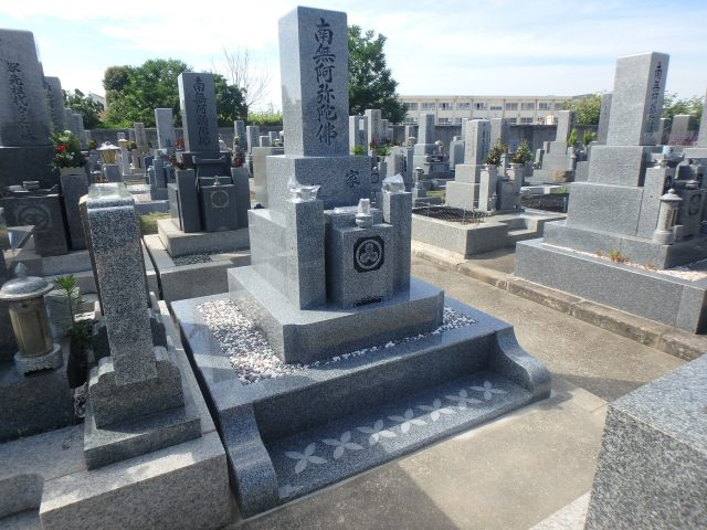 お墓施工例/堺市野尻墓地1-41