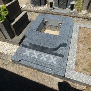 堺市堺区・藤井寺市・大阪市淀川区のお墓工事②
