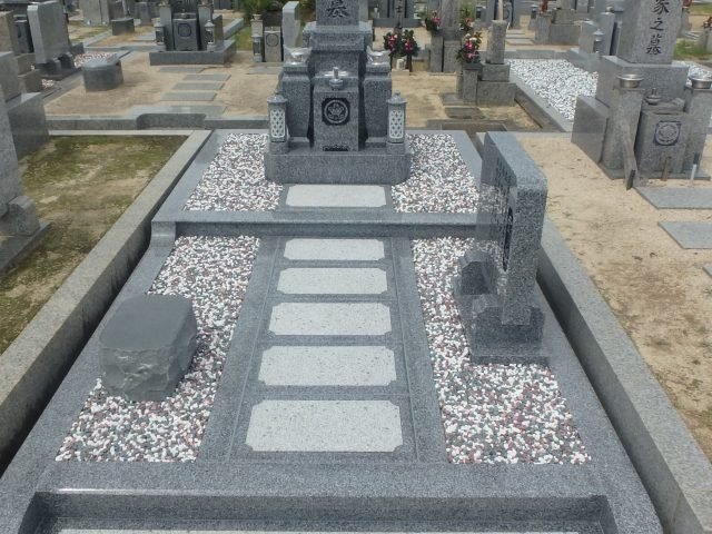 お墓施工例/堺市陶器墓地2-53