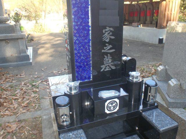洋型墓石施工例3-36