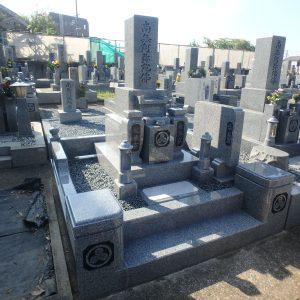 堺市西区で大島特級石の石碑工事