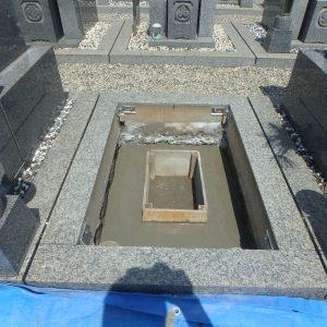 お墓工事のご見学