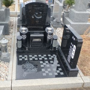 今年度施工 洋型墓石のお墓編(一部)