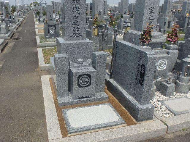 最高級墓石施工例4-20 泉大津市