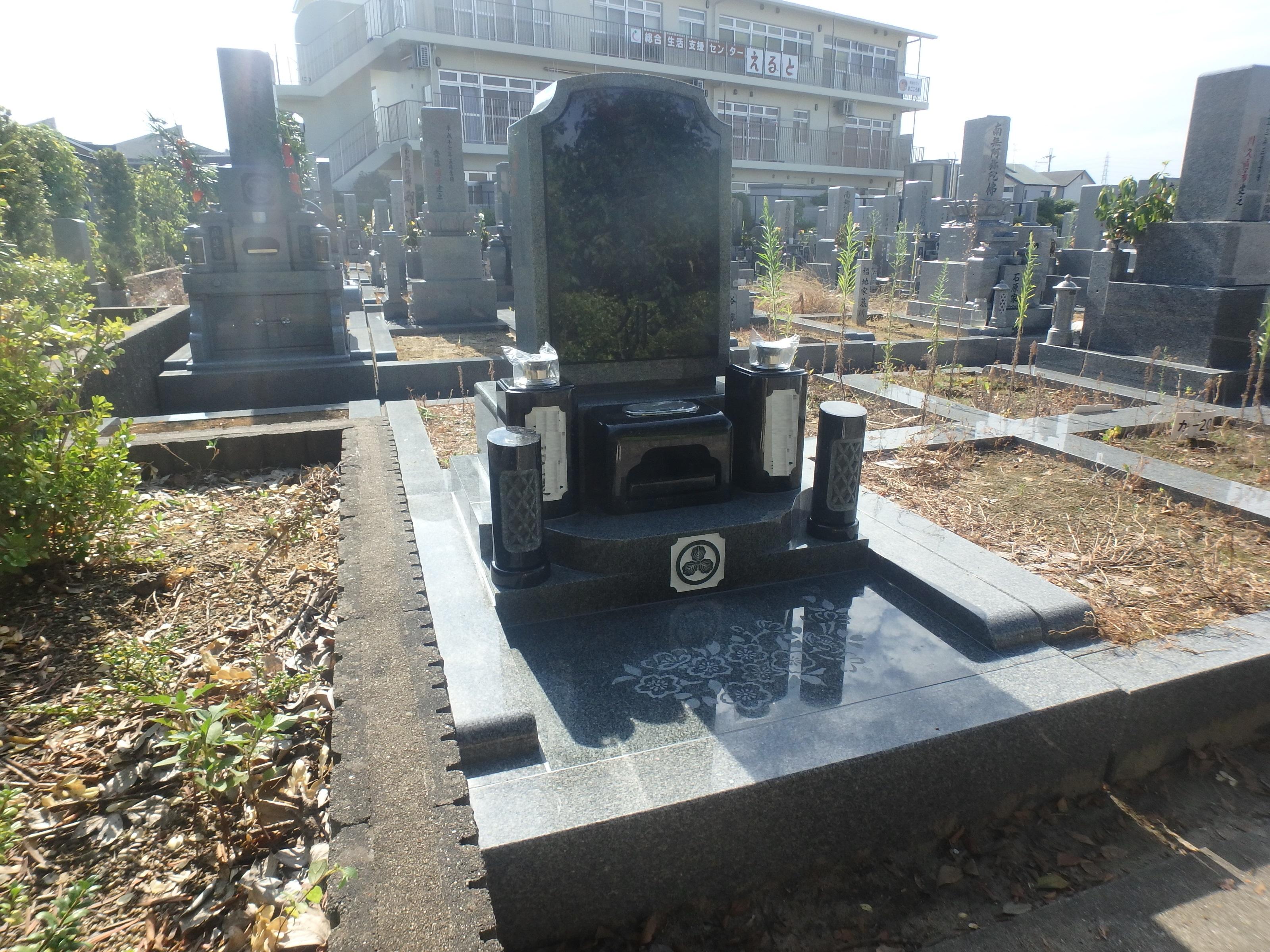 洋型墓石3-42