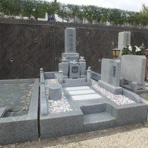 今年度施工させて頂いたお墓の中より。和型墓石編