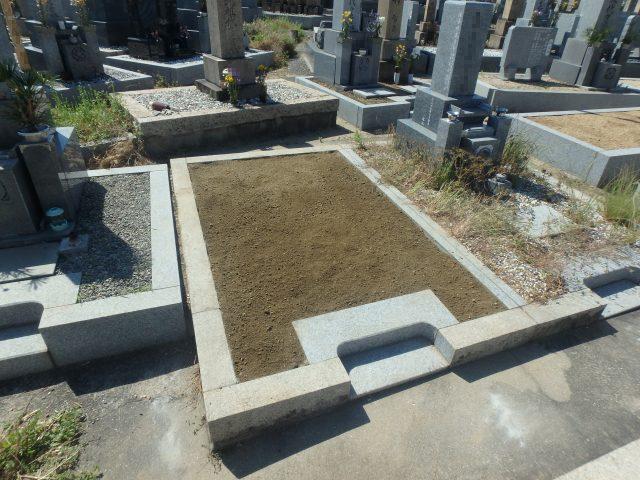 墓じまい施工例9-1 泉大津市 地域墓地