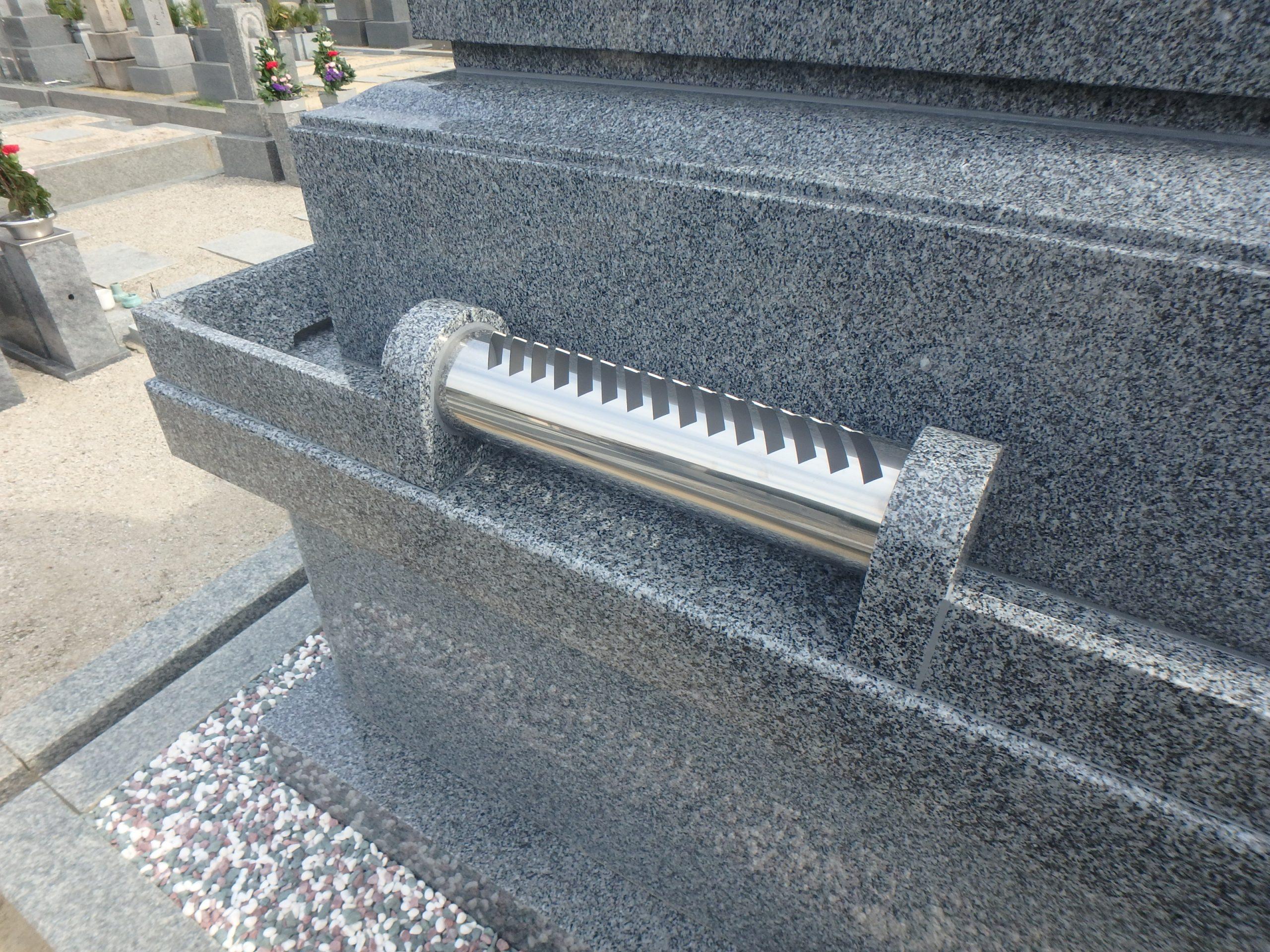 施工例3-44 納骨堂式洋型墓石 黒竜江省産K12Aの詳細画像2