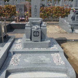 飯盛霊園、堺市西区丈六墓地にて お参りしやすいお墓、お掃除しやすいお墓とは